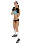 Weiblicher MMA Kämpfer lizenzfreie stockfotos