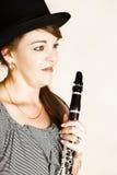 Weiblicher Musiker Stockfotografie