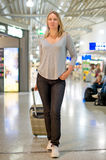 Weiblicher Passagier Lizenzfreie Stockfotografie