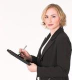 Weiblicher Prüfer #9 Lizenzfreie Stockfotos