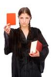 Weiblicher Rechtsanwalt Stockfotografie