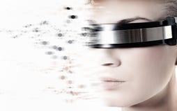 Weiblicher Roboter Lizenzfreies Stockfoto