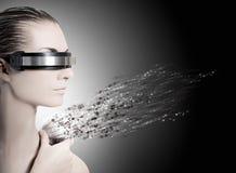 Weiblicher Roboter lizenzfreie stockfotos