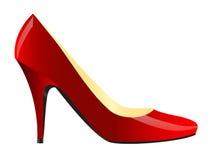 Weiblicher Schuh Stockfotografie