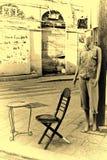 Weiblicher Shop-blindes Mode-Mannequin Lizenzfreies Stockfoto