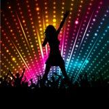 Weiblicher Sänger Lizenzfreie Stockfotos