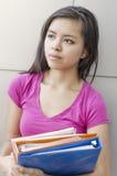 Weiblicher Student lizenzfreie stockbilder
