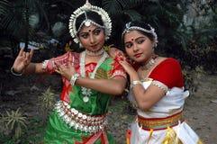 Weiblicher Tänzer von Indien Lizenzfreie Stockfotos