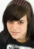 Weiblicher Teenager mit Haarband Stock Image