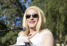 Weiblicher Transgender Stockbild