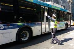 Weiblicher Verkehrs-Offizier, NYC, NY, USA Lizenzfreie Stockbilder