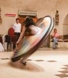Weiblicher wirbelnder Derwisch die Türkei Lizenzfreie Stockbilder