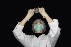 Weiblicher Wissenschaftler Stockfoto