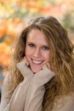 Weibliches Abiturient-Portrait Lizenzfreie Stockfotos