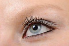 Weibliches Auge Lizenzfreie Stockbilder
