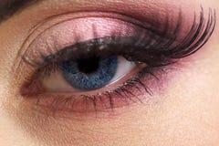 Weibliches Auge Stockbild