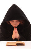 Weibliches Beten. Lizenzfreie Stockbilder