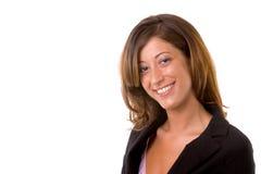 Weibliches Leitprogramm Lizenzfreies Stockfoto