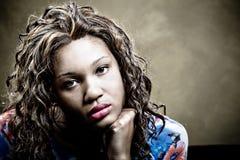Weibliches Portrait Stockbilder