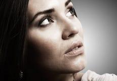 Weibliches Portrait Lizenzfreies Stockfoto