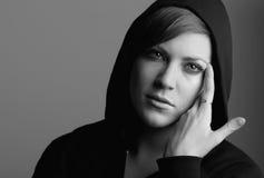 weibliches Untersuchung 20s die Kamera Lizenzfreie Stockbilder