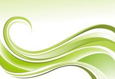Weich grüner Antrieb Stockbild