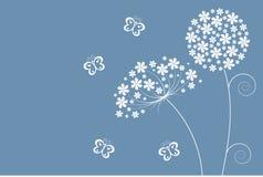 Weiche Blumen stock abbildung