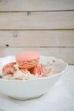 Weiche Farbe-macarons Stockfotos