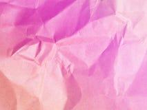 Weiche Farbrosa Hintergrund von den Papierumschlägen Stockfotografie
