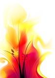 Weiche Flammen Stockfotografie