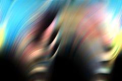 Weiche Formen der Wellen, Formhintergrund und Schatten Lizenzfreies Stockfoto