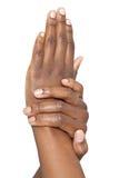 Weiche Hände stockfoto