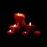 Weiche Kerzen Lizenzfreies Stockbild