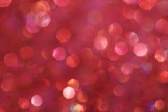 Weiche Lichter des dunklen rosa festlichen eleganten abstrakten Hintergrundes Lizenzfreie Stockfotos