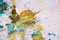Weiche Pastellbeschaffenheit, wächserner bunter Winterhintergrund Stockfotos