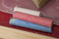 Weiche Pastellfarben, getrennt Lizenzfreie Stockfotografie