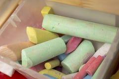 Weiche Pastellfarben, getrennt Stockfotografie