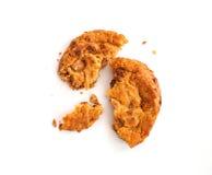 Weiche Plätzchen-Torte Karamell-Apples Stockfotografie