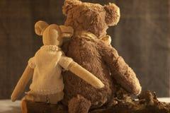 Weiche Spielzeug-Liebe Stockfoto