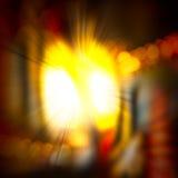 Weiche- und Unschärfelicht für abstrakten Hintergrund Stockbilder