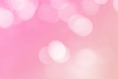 Weiche verwischte Pastellhintergrund der süßen Süßigkeit mit natürlichem bokeh Stockbilder
