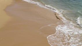 Weiche Welle des Meeres stock footage