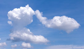 Weiche Wolken Stockfotos