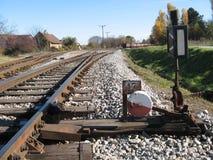 Weicheneisenbahn Lizenzfreie Stockbilder