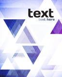 Weicher abstrakter geometrischer Hintergrund Lizenzfreies Stockfoto