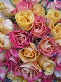 Weicher farbiger wedding Blumenstrauß Lizenzfreie Stockbilder