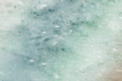 Weicher grüner Blasen-Zusammenfassungs-Hintergrund Stockbild