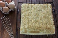 Weicher Kuchen Stockbild