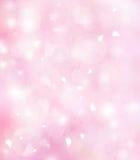 Weicher rosafarbener Hintergrund Stockbild