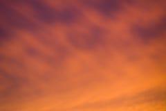weicher Sonnenunterganghimmel-Steigungshintergrund Lizenzfreie Stockfotografie